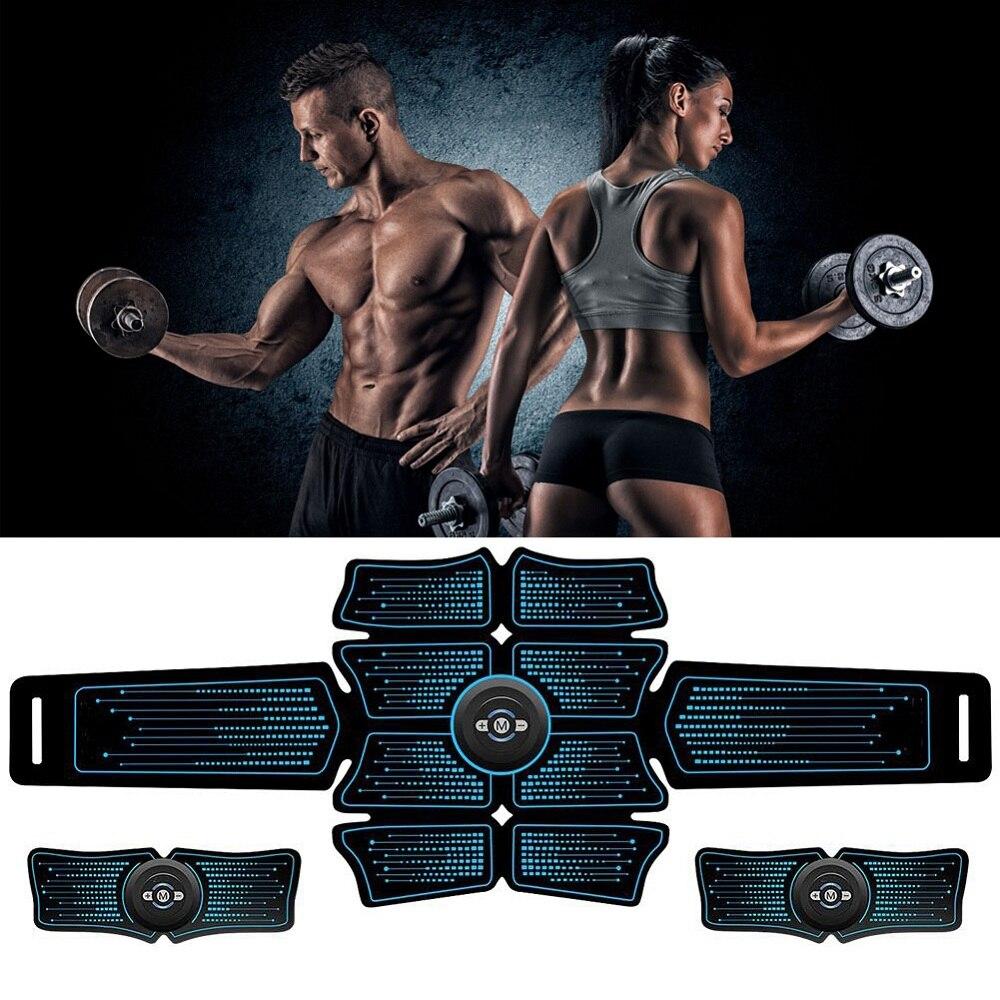 muscular abdominal sem fio ems treinamento fitness