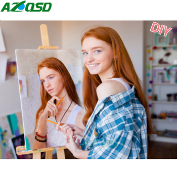Personality Photo Customized DIY Oil Paint Paintings By Numbers Picture Drawing by Canvas Coloring Acrylic