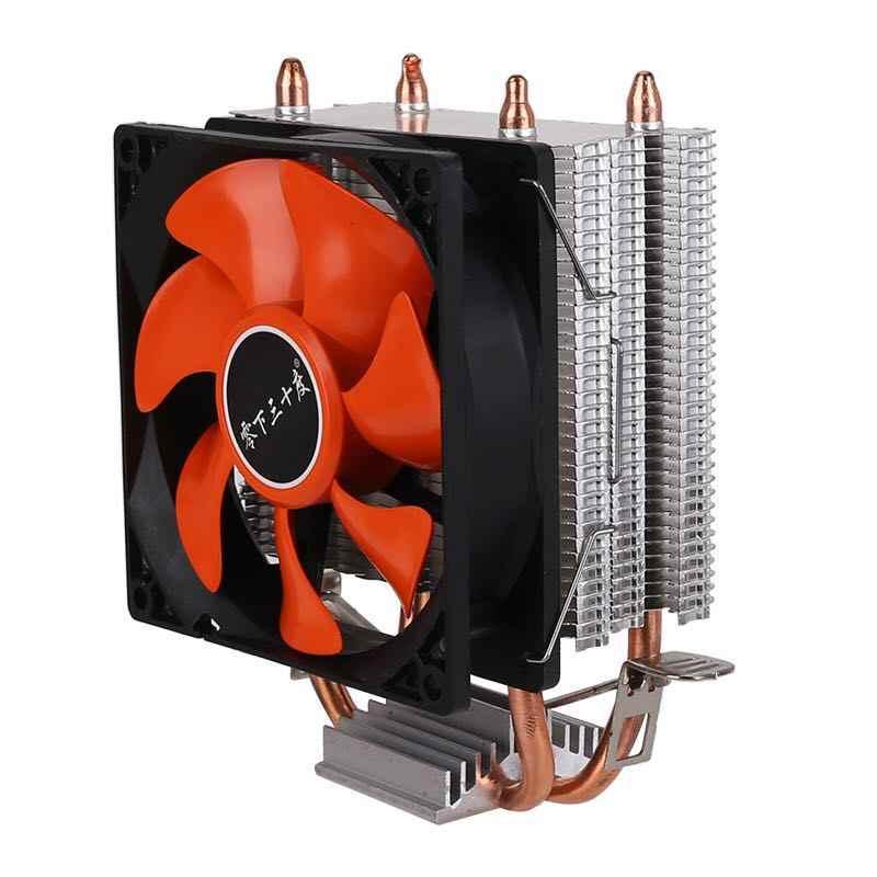 Efficiënte Koeling Universal Cpu Cooler Fan 3pin Voor Intel Lga 1150 1151 1155 1156 775 I3 I5 I7 Amd AM2 AM3 AM4 Rustig Air Volume