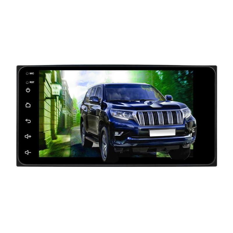 <font><b>2</b></font> <font><b>Din</b></font> 7 Inch Touch Screen Quad Core Android 8.1 Car MP5 Player GPS Navi FM Radio WiFi Bluetooth Video Media Player Host image