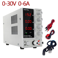30V6A Switching Adjustable Laboratory Power Supply Voltage and Current Regulator Current Stabilizer Dual Power Supply Unit