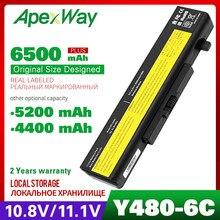Аккумулятор Apexway L11L6Y01 L11S6Y01 L11M6Y01 для ноутбука Lenovo Y580 G510 G710 G580 G 580 Z380 Z380AM Y480 G480 V480 G580AM