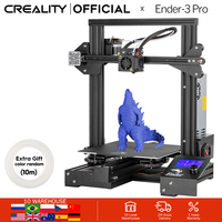 CREALITY 3D Ender 3 Pro Printer Upgraded Magnetic Build Plate Resume Power Failure Printing Masks KIT Mean Well Power Supply