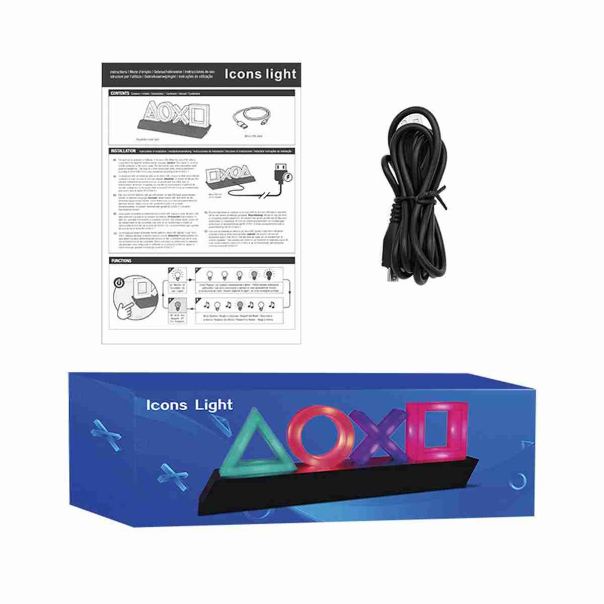 Lámpara Neon Ps4 Música
