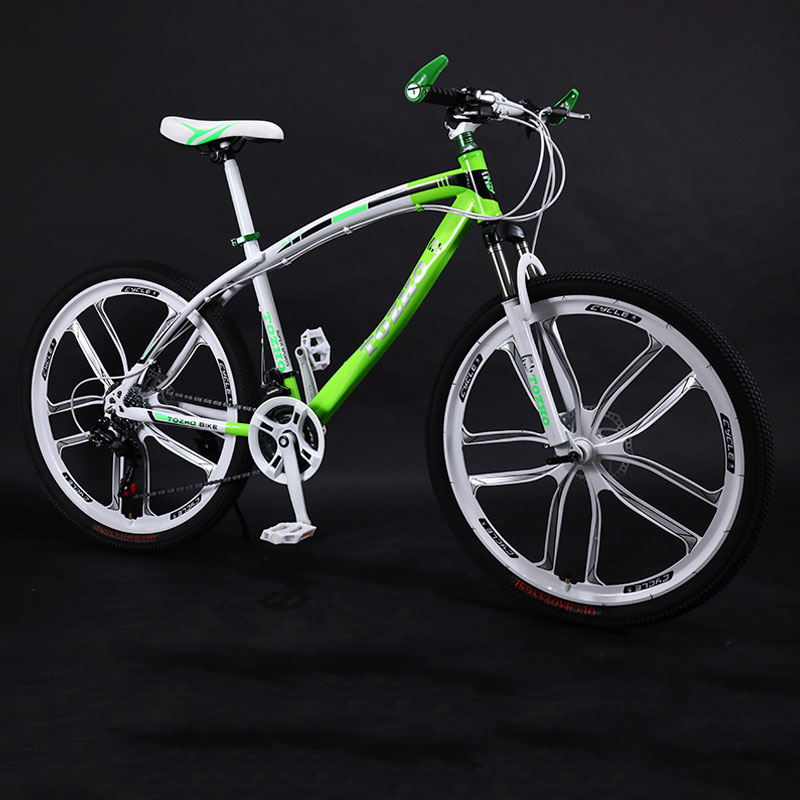 Bicycle Mountain Bike 26 Inch Variable Speed 10 Knife Wheel Double Disc Brakes Shock Road Men And Women Cool