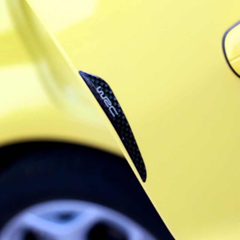 Porta Adesivo Auto In Fibra di Carbonio Protector per citroen c4 toyota nissan qashqai suzuki sx4 toyota c-hr renault fluence