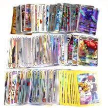 Carte Pokemones GX Tag Team EX Mega Shinny, jeu de combat, Carte Trading, jouet pour enfants, 10 à 300 pièces