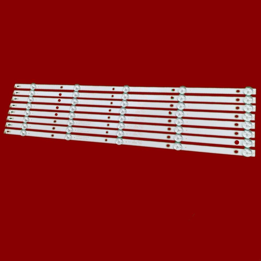 8 PCS/lot 5LED Or 6LED LED Backlight Strip For 55PUF6092 K550WDC1 A2 4708-K550WD-A2113N01 K55WDC-A1113N01 471R1P79