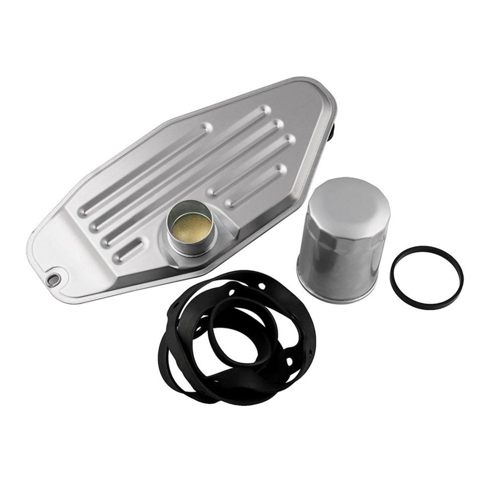45RFE 545RFE 68RFE Transmission Filter Kit 4WD Governor Line Pressure Transducer Suit With Pan Gasket 1999-UP Ram Durango