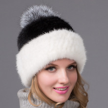 Ashion New Style Luxury Winter Russian Natural Real Fox Fur Hat 2019 Women Warm Good Quality 100% Genuine Cap