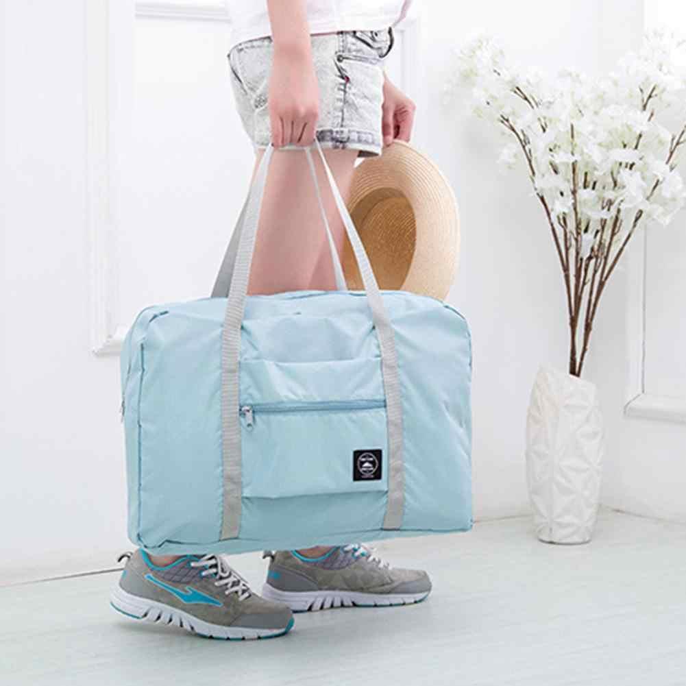 Складная Большая спортивная сумка для хранения багажа Водонепроницаемая