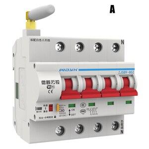 WiFi умный автоматический выключатель приложение пульт дистанционного управления автоматический выключатель защита от перегрузки _ WK