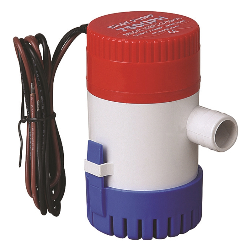 <font><b>750Gph</b></font> 12/24Vdc <font><b>Bilge</b></font> <font><b>Pump</b></font> High Flow Submersible Used in Garden House Solar-<font><b>12V</b></font> image