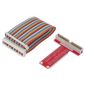 Expansion-Board Portable GPIO Breakout for Raspberry Cable-Set T-Shaped Pi-2 Brand-New