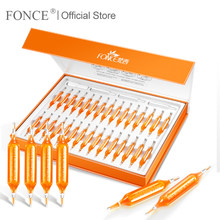 Fonce Red Blood Orange Vc Essence Face Serum 30 Pcs Nicotinamide Stay Up Late No Injection Individual Package Brighten Skin