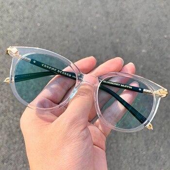 Custom Photochromic Lens Glasses Frame Women Accesorios Mujer Lentes Opticos Para Mujer Mens Glasses Frames Retron Eyewear