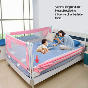 Image 2 - children security bed fence barrier foldable rail barrier kids playpen safety baby guardrail fence playground safe fencing rails