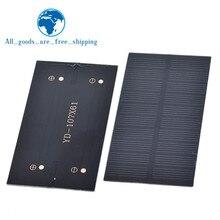 Smart elektronik Solar Panel 1W 5V elektronische DIY Kleine Solar Panel für Mobiltelefon Ladegerät Home Licht Spielzeug etc Solarzelle