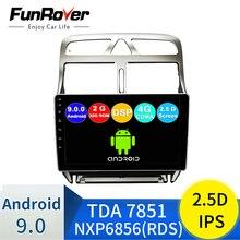 2din Android 9,0 coche DVD reproductor multimedia de Peugeot 307 307CC 307SW 2004-2013 la radio del coche de navegación GPS WiFi reproductor Bluetooth 2+32G