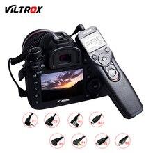 ЖК-таймер Viltrox MC для камеры, кабель для спуска затвора с дистанционным управлением для цифровых зеркальных камер Canon, Nikon, Pentax, Olympus, Sony, A9, A7, A6500...