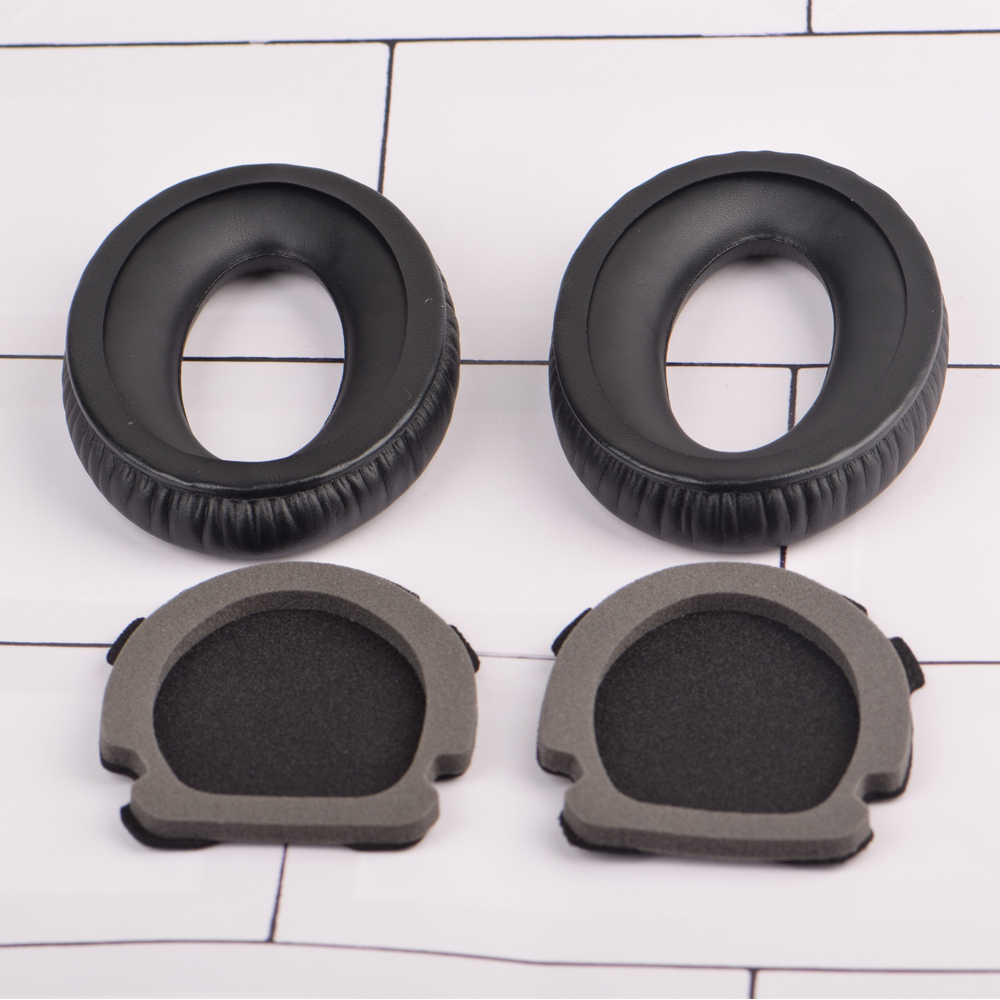 Bir çift veya Earpads Bose havacılık kulaklık X A10 A20 kulaklık kulaklık yedek siyah kulak pedleri minderler kapakları