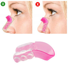 1PC Silicone Nose UP Japan Lifting Shaping Clipper Bridge Straightening Beauty Clip Nose Shapers Massage Makeup Accessorices(China)
