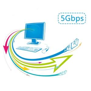 Image 4 - USB 3.0 ชายหญิง USB Extender ความเร็วสูง 5Gbps Built in ชิปสัญญาณ MICRO พอร์ต 5 30M EXTENSION