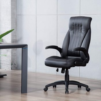 Executive Chair Desk Ergonomic Office Chair Office Chair with Adjustable Height Stable Chair Resistant Rotation executive office chair in velvet microfiber with nylon casters office furniture computer desk task ergonomic boss chair for home