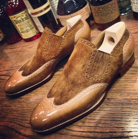 Men Pu Leather Shoes Casual Shoes Dress Shoes Brogue Shoes Spring Ankle Boots Vintage Classic Male Casual AB602