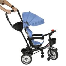 Stroller Tricycle Kids Bike Baby 3-Wheel Folding Infant 6M-6Y 4-In-1 Rotating-Seat HWC