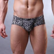 Boxer Мужские трусы Christmas boxers Sexy Men Underwear Boxer Shorts Men Underwear Flower Leopard Print Boxer Shorts Pouch Gay cheap feitong CN(Origin) WKX927 Polyester