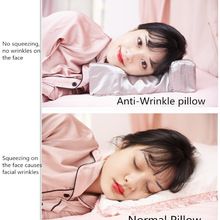 Anti Wrinkle Anti Aging Wrinkle Prevention Acne Treatment Natural Beauty Back & Side Sleeping Latex Pillow