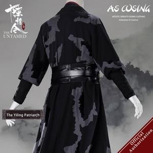 Image 3 - Uwowo Mộ Đạo Tử Sử Phim Truyền Hình Các Untamed Yiling Thượng Phụ Ver Ngụy Wuxian Ngụy Vương Trang Phục Hóa Trang Cho Nam