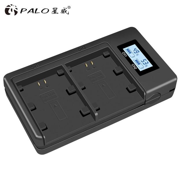פאלו NP FZ100 NP FZ100 LCD כפול USB סוללה מטען עבור Sony NP FZ100, BC QZ1 אלפא 9, A9, אלפא 9R, Sony A9R Sony Alpha 9S