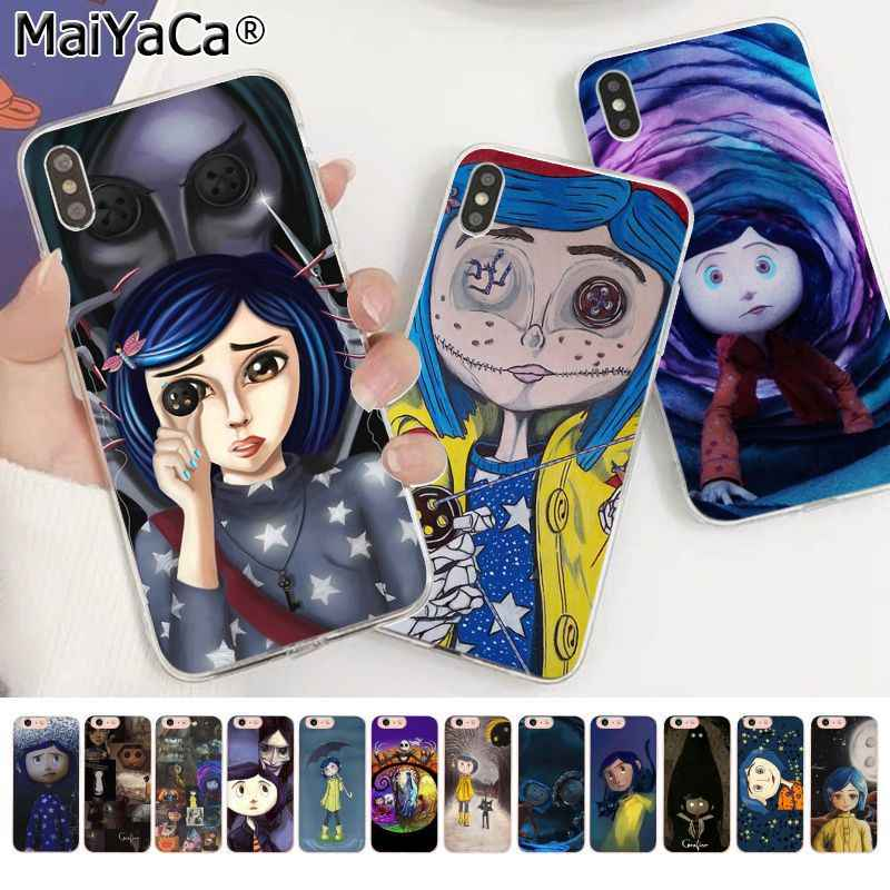 Maiyaca Coraline And The Magic Door Printing Drawing Phone Case For Apple Iphone 11 Pro 8 7 66s Plus X Xs Max 5s Se Xr Phone Case Covers Aliexpress