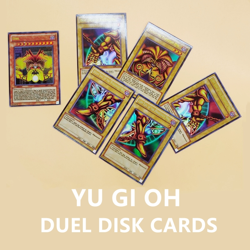 NEW 216PCS Duel Monsters YU GI OH DUEL DISK Game Collection Carte Trading Flash Shine Cards Game With Beautiful Box(China)