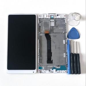 "Image 2 - Original M & Sen 5.99 ""Für Xiao mi mi mi x 2 ROM 8GB Volle Cera mi c Unibody Version lcd Display + Touch Panel Digitizer Rahmen"
