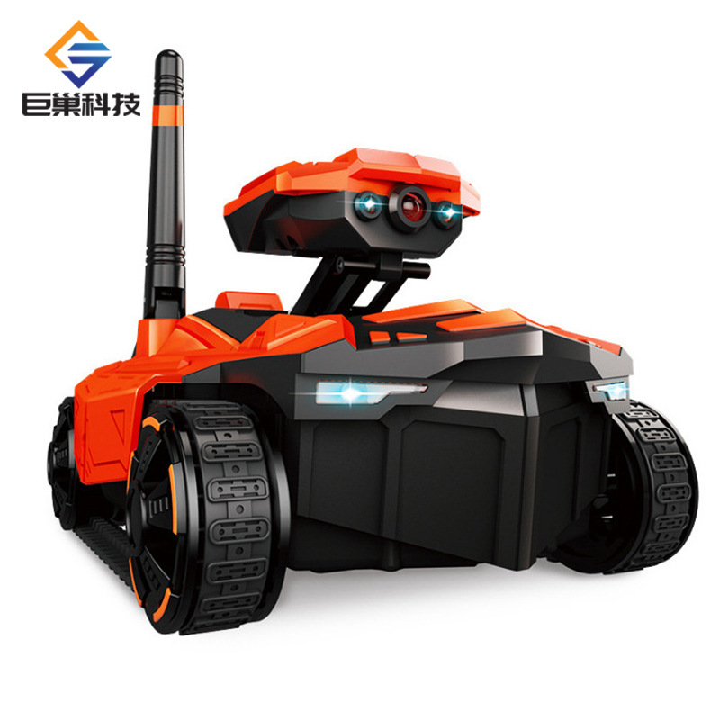 Giant Nest 211 WiFi High-definition Figure Spread Transmission Remote Control Car Real Apple Android Tank Video Car