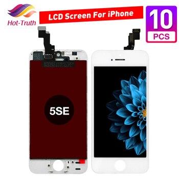 20 unids/lote pantalla LCD para iPhone 5c pantalla táctil digitalizador montaje reemplazo A1456 A1507 A1516 A1529 A1532
