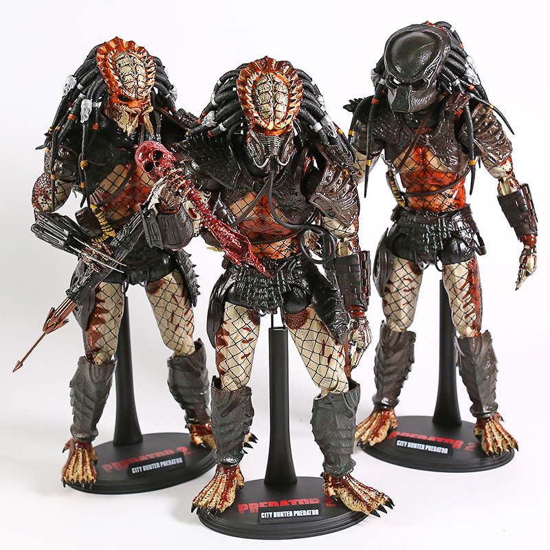 PREDATOR 2 City Hunter Predator A B C 1/6 Scale PVC Action Figure Collectible Model Toy
