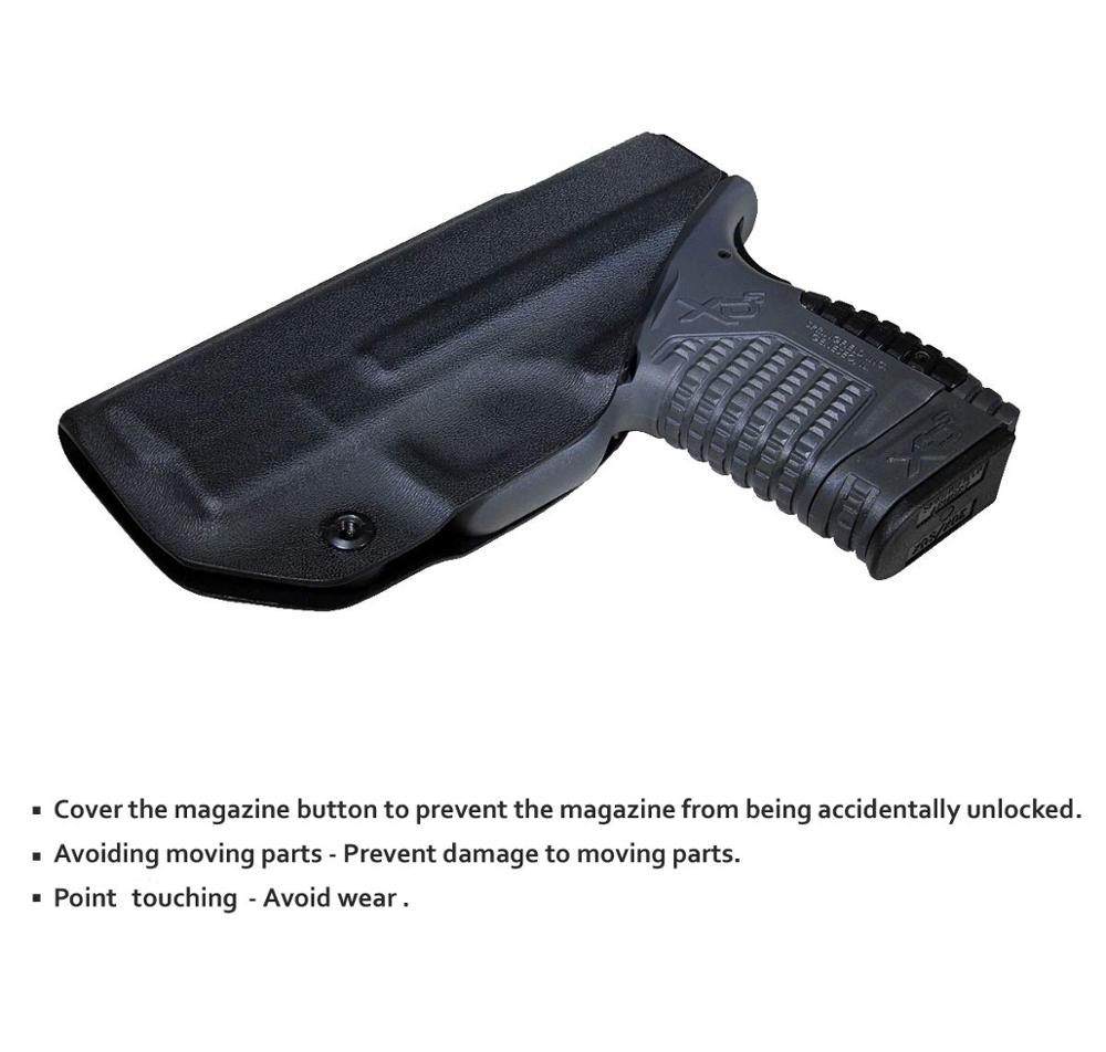 B.B.F Make IWB KYDEX Holster Fits: SpringField XD-S 3.3