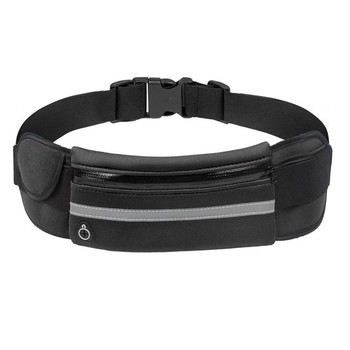 Sports Bag Running Waist Bag Pocket Bag Outdoor Jogging Cycling Running Bag Waterproof Adjustable Anti-theft Pack Sport Belt Bag 12