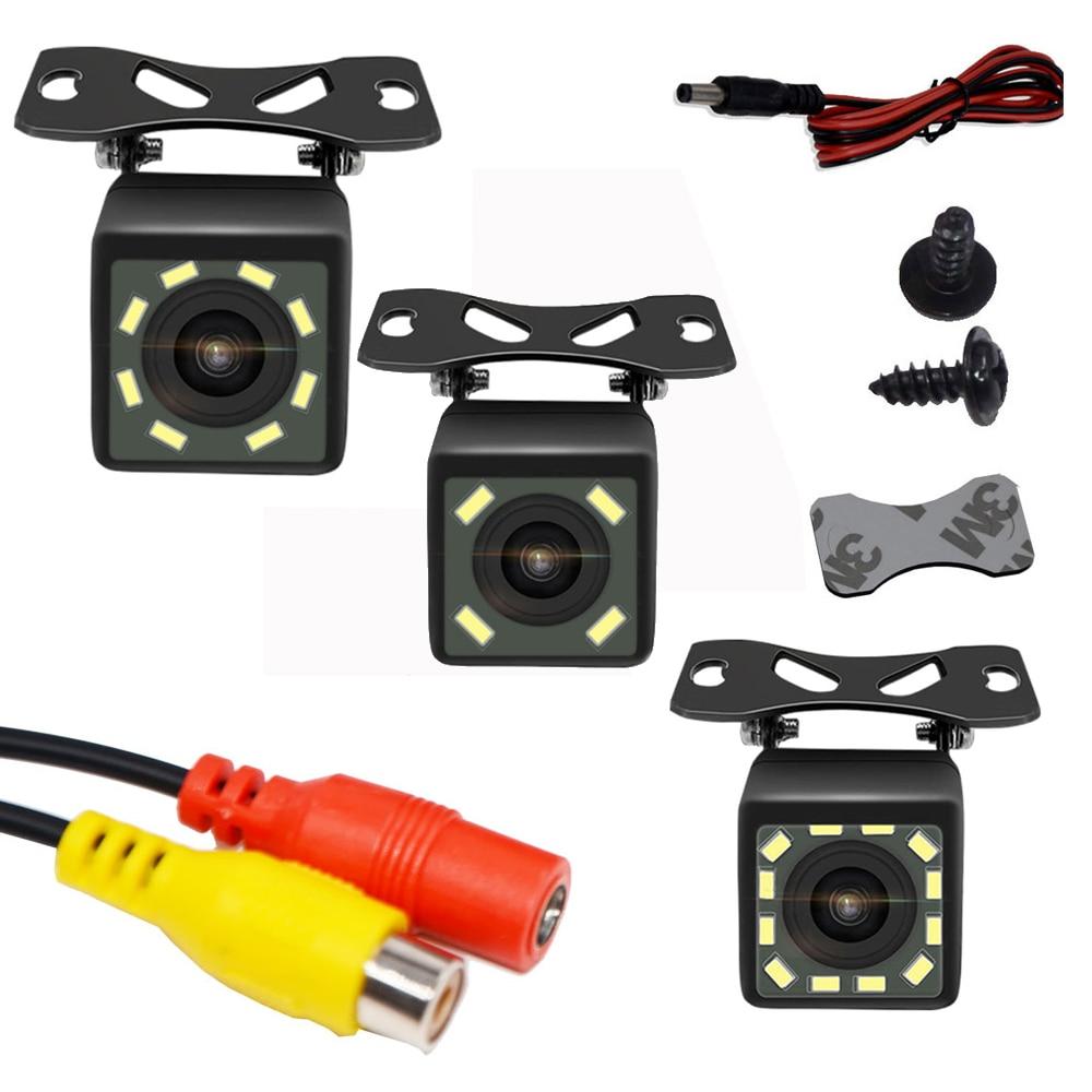 Caméra de vue arrière pour voiture | Universelle, Vision nocturne 12, sauvegarde Parking, caméra inversée, étanche 170 grand Angle, Image couleur HD