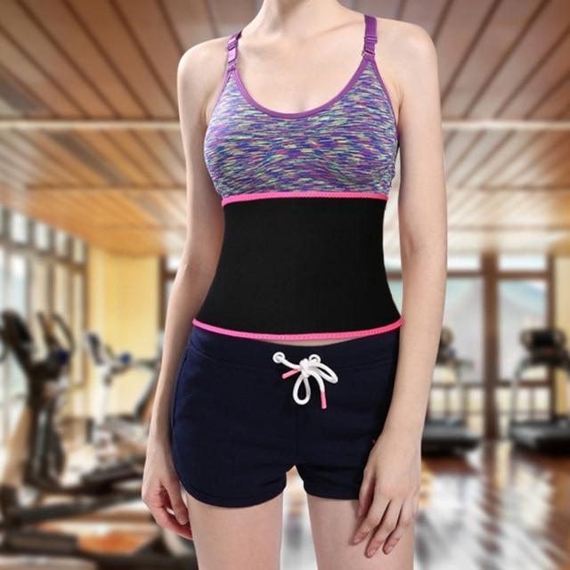 Waist Trimmer Belt Weight Loss Sweat Band Wrap Fat Tummy Stomach Sauna Sweat Belt Sport Safe Accessories 3