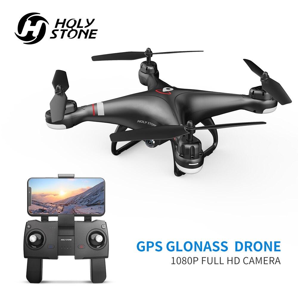 La piedra sagrada HS110G PRO GPS Drone WIFI FPV HD 1080P Cámara RC Drone GPS Me sigue profesional de vídeo en directo de Hover RC Quadcopter