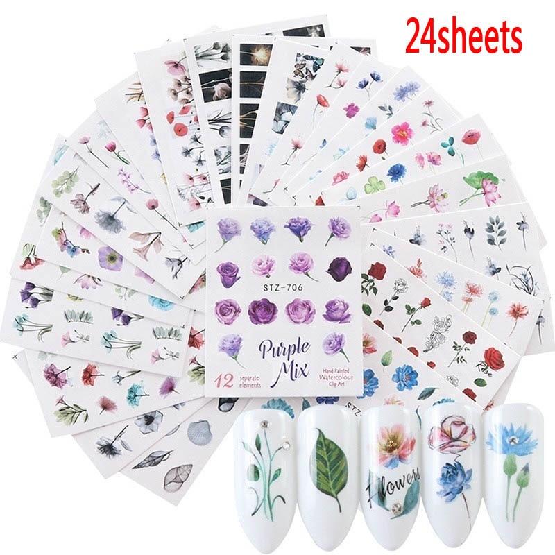24sheets  Nail Sticker