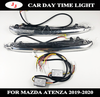 For Atenza 2019 2020 Day light Blue white Car light accessory led for Atenza DRL with turn light car lamp day time running light