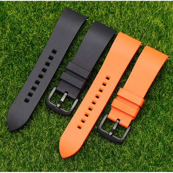 Rubber Strap For xiaomi huami AMAZFIT stratos watchband bracelet For huami GTR 47mm quick release band for amazfit pace 22mm