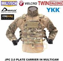 Militech Tw Twinfalcons Jpc 2.0 Jump Plate Carrier Mil Spec 500D Cordura Molle Militaire Combat Tactical Vest