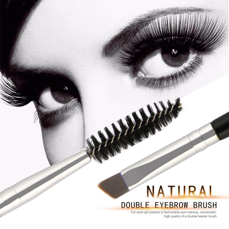 MAANGE 2 In 1 Double Heads Eyelash Brush Eyebrow Comb Brushes Portable Professional Beauty Makeup 6 Color Tools Hot